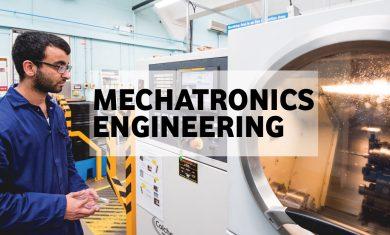Mechatronics - Bachelor's programme in English